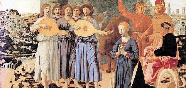 A Natividade, Piero della Francesca