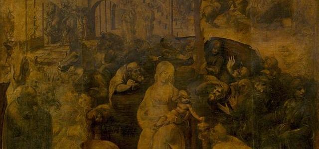 A Adoração dos Magos, Leonardo da Vinci