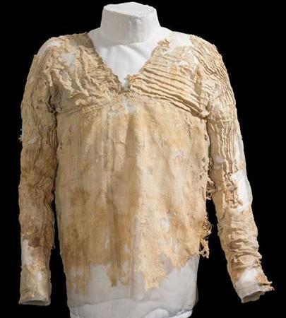 Vestimenta mais antiga do mundo?