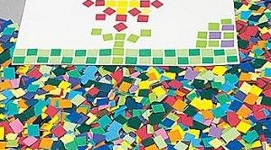 Como fazer um Mosaico de Papel