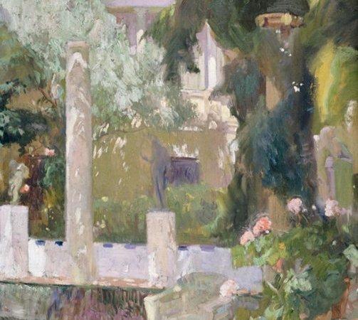 Jardim da Casa, Sorolla