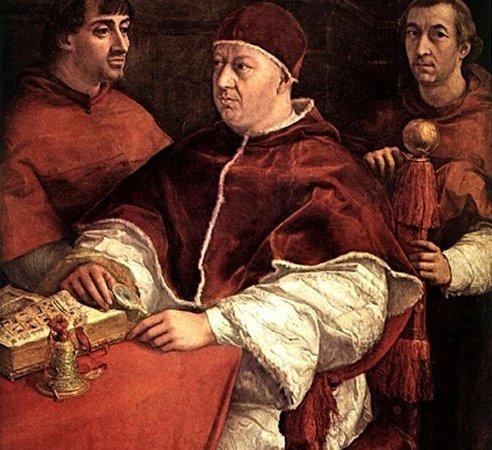 Retrato de Leão X com Dois Cardeais, Rafael Sanzio