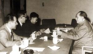 Na China com Mao Tsé Tung