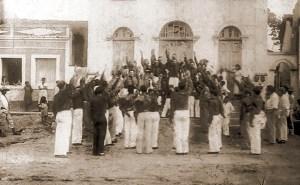 AIB recebe novos membros do Núcleo Distrital da Usina Uruba, em Atalaia, no dia 15 de agosto de 1935