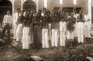Novos membros do Núcleo Distrital da Usina Uruba, em Atalaia, em 15 de agosto de 1935