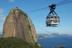 Morro do Pão de Açúcar no Rio de Janeiro