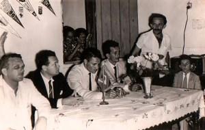 Rubens Colaço em ato da CGT em 1964