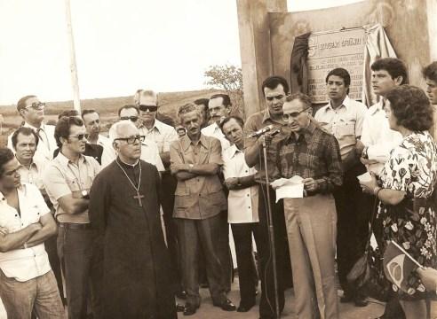 Inauguração da Rodovia Arapiraca-Batalha, ano 1974, Governo Afrânio Lages