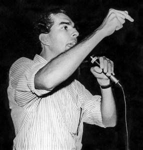 Joaldo Cavacante, presidente do Sindicato dos Jornalistas à época do fechamento, em 1992