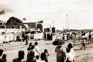 Missa campal na Praça Antônio Brandão em1939