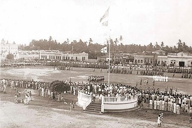 Evento cívico em 1940
