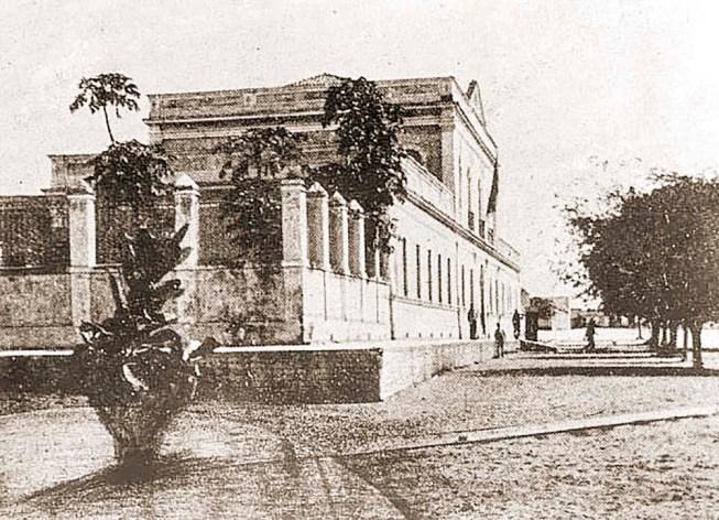 Quartel de Linha do 20º BC em 1922