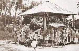 Chafariz na Av. Aristeu de Andrade nos anos 60