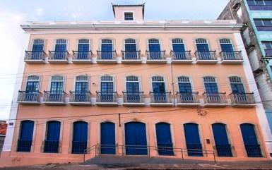 Palácio do Barão de Jaraguá, hoje abriga a Biblioteca Pública de Alagoas