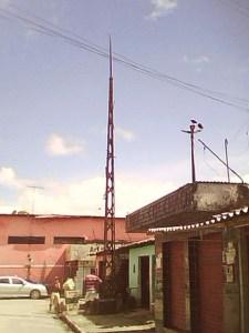Antena da primeira Rádio em Rio Largo