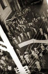Ato de apoio as reformas de bases realizado em Maceió, no dia 29 de março de 1964