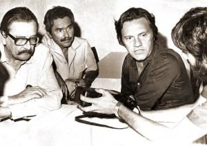 Com José Moura Rocha e Marcos Freire, já no MDB