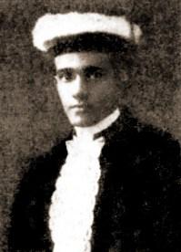 Jorge Lima em 1914, na sua formatura em Medicina no Rio de Janeiro
