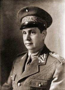 O alagoano Pedro Aurélio de Góis Monteiro, um dos principais articuladores da Revolução de 30