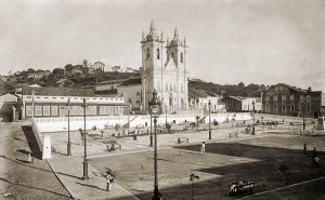 A Praça totalmente remodelada
