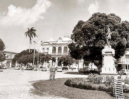 Praça dos Martírios na década de 80
