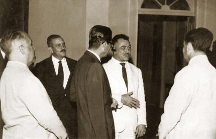 Teotônio, Arraes e Luiz Cavalcante em 1963