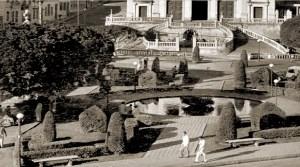 Praça D. Pedro II nos anos 50.