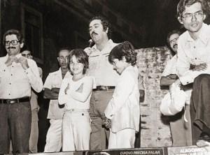 Comício da campanha de 1978