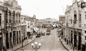 Rua do Comércio nos anos 50