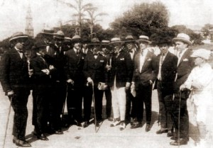 Embarque de Jayme de Altavila para o Rio de Janeiro em 1923