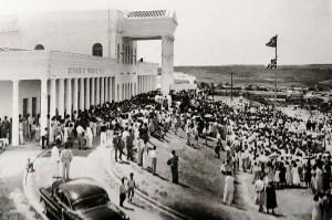 Inauguração do Colégio Judith Paiva. O primeiro ginásio construído no interior do Estado de Alagoas