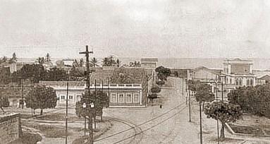 Rua Barão de Anadia em 1910
