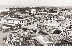 Cadeia Pública de Maceió nos anos 60. Foi demolida em 1967