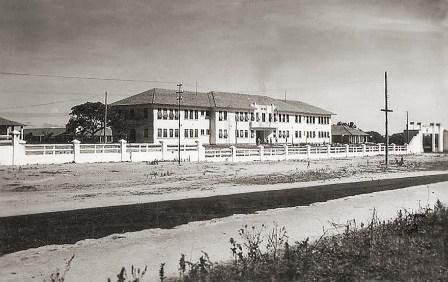 Quartel do 20 BC, no Farol, logo após a construção