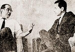 Cláudio Ramos e o arquiteto Marcos Antonio Khair