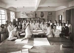 Equipe do recenseamento de 1940 em Alagoas. Foto acervo do DIP, cedidada por Auriberto Ticianeli.