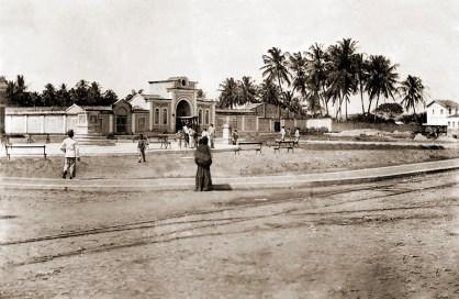 Praça Sinimbu no final do século XIX.