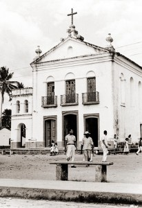 Igreja de Nossa Senhora da Conceição em Passo de Camaragibe nos anos 50