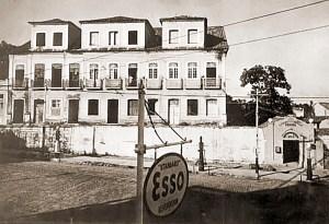 Palácio Velho, na Praça dos Palmares, onde começou a funcionar o Tribunal de Justiça