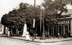 Praça D. Rosa da Fonseca nos anos 30