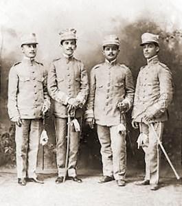 Reservistas da 1ª Cia do 28º de Caçadores, O Tiro Alagoano. Foto de Linden