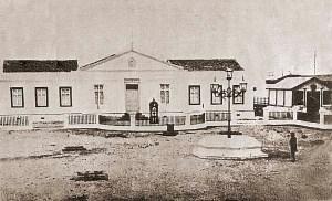 Consulado Provincial antes de 1918, ainda com um só pavimento