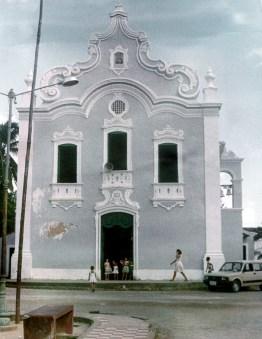 Igreja Matriz Santa Luzia de Siracusa, em Santa Luzia do Norte