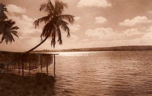 Pontal da Barra nos anos 50. Foto Stuckert
