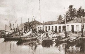 Porto da Levada em Maceió no início do século XX