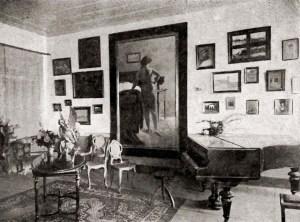 Ateliê de Virgilio Mauricio em Recife, 1918
