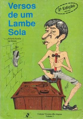 Capa do livro Versos de um Lambe Sola