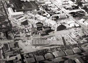Construção da Escola de Ciências Médicas e do Hospital de Doenças Tropicais no início dos anos 70