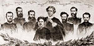 D. Rosa da Fonseca e seus sete filhos que lutaram na Guerra do Paraguai