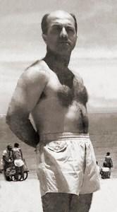 Dr. Paulo Netto em uma das praias de Maceió